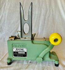 Vintage Rhyne Pick Machine With Original Weight - Floral Supply