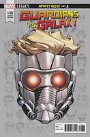 GUARDIANS OF GALAXY #146 MCKONE HEADSHOT VARIANT MARVEL LEGACY COMICS STAR LORD