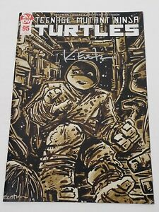 TMNT TEENAGE MUTANT NINJA TURTLES #95 2ND PRINT JENNIKA 💥SIGNED EASTMAN