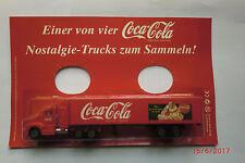 1:87-H0-LKW-Coca Cola Nostalgie-Trucks zum Sammeln - neuwertig in OVP   Nr.032/2