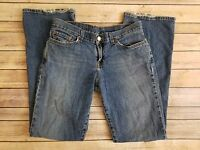 Lucky Brand Womens Mid Rise Flare Blue Jeans Dungarees Tag Size 8