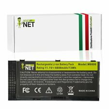 Batteria FV993 compatibile con Dell 0TN1K5 PG6RC R7PND 0FVWT4 [6600mAh]
