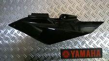 """Yamaha Wr125x/Wr125r """" Carénage latéral arrière gauche noir """" ORIGINAL YAMAHA"""