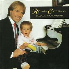 Richard Clayderman: [1990] Ballade Pour Adeline          CD