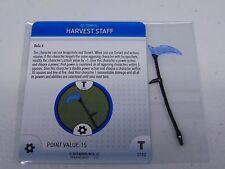 HEROCLIX MARVEL HARVEST STAFF PROMO L.E.  NEW!!! HC40