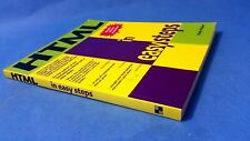 HTML in Easy Steps By Andy Holyer Chris Russell Computer IT Best Help Books