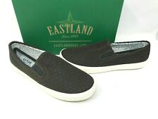 Eastland Women's Breezy Slip On Comfort Flat Shoes Dark Olive Size:6 W63 az