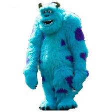 Costume Blue Long Fur Monster Mascot Costume Fursuit Cosplay Dress Ad Xma