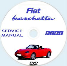 Fiat BARCHETTA,Service Manual,Manuale Officina anno 2000,1a serie