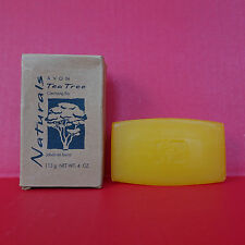 Avon Naturals Tea Tree Oil Soap Bar Cleansing Face Body Discontinued 4 oz