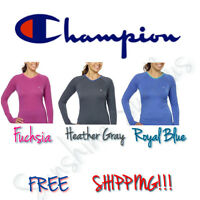 NEW Women's CHAMPION Active Yoga, Athletic, Long Sleeve Tee Shirt - Variety