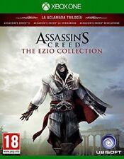 Figuras assassins creed-The Ezio Collection-Xbox One Uncut nuevo embalaje original