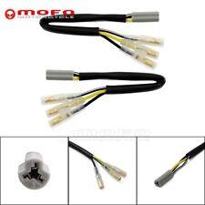Turn Signals Wiring Harness Adapter 3 Pin For Suzuki SV650 SV650S SV1000 SV1000S