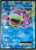 Pokemon Card  SLOWBRO EX  Ultra Rare  Evolutions  26/108 ***MINT***