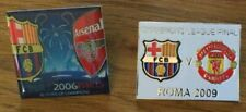 Champions League Final 2006 Barcelona v Arsenal in a Paris Badge Pin