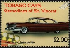 1961 CADILLAC Sedan Deville Comme neuf automobile voiture TIMBRE (2003-Tobago Cays)