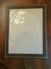 """Vintage Leather Looking Picture Frame 8""""X10""""(picture size 6 1/2"""" X  8 1/2"""")"""