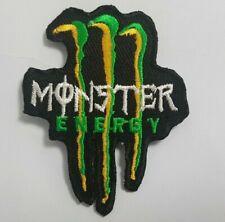Bestickt Monster Energy Drink Aufnäher / Zum Aufbügeln Abzeichen/Logo