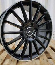 "19"" Mercedes Benz C E Class c63 Alloy Wheels Wider Rear Alloys &  tyres Set Of 4"