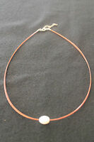 NECKLACE / STEEL AND PEARL / RRP~20€ / -10€ OFF!!!!!!