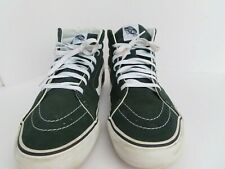 VANS High Top Mens athletic shoe Green and white