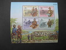 NEW ZEALAND 1984 MILITARY HISTORY MINIATURE SHEET NHM SG MS1356