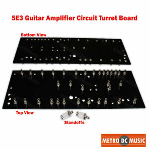 5E3 Amplifier Circuit Turret Board for Fender Tweed Deluxe Amp DIY Tag NEW