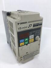Omron CIMR-J7AZ20P7 VS mini J7 3 phase 1.1KW