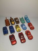 Lot Of 13 Disney-Pixar Cars Diecast and Plastic Vehicles