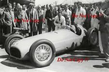 Raymond Mays BRM V16 F1 Car Launch Silverstone 1950 Photograph 1