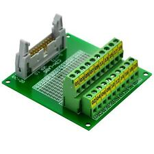 "CZH-LABS IDC-20 Male Header Connector Breakout Board Module, IDC Pitch 0.1"""