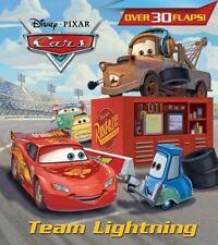 Team Lightning (Disney/Pixar Cars) (Nifty Lift-and-Look) - LikeNew - RH Disney -