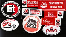 COAL   MINE STICKERS W1
