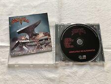 Anvil Absolutely no alternative CD (Razor Sacrifice Exciter Annihilator Savatage
