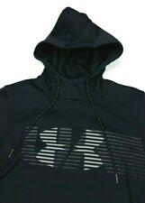Under Armour Spectrum Fleece Black Hoodie Sweatshirt Small Loose Mens