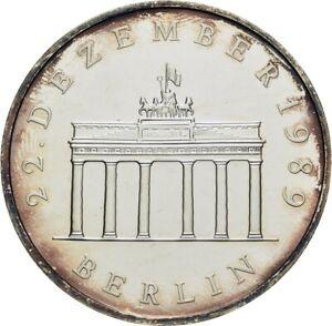Savoca Coins DDR 20 Mark 1990 Brandenburger Tor Silber =BZB81171