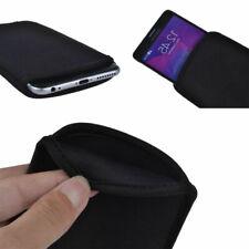 BLACK Slim Travel Neoprene Sleeve Bag Case Carry Cover for Samsung Galaxy S8/S9