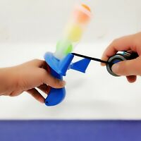 Pong Striker Soft pong gun can Launch soft pong and table tennis Children's toy