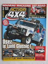 ACTION 4X4  N°5 /VOLVO XC90 D5/ HDJ 100 Grand raid/ prépa KZJ 95/ DODGE DURANGO