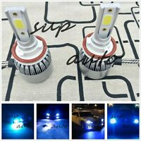 H11 H8 H9 LED Headlight Bulb 55W 8000LM Kit High/Low Beam Premium 8000k ice blue