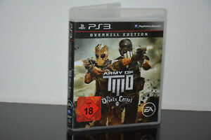 PS3 Spiel - Army of Two III - Teil 3 - Overkill Edition - USK 18 - TOP Spiel