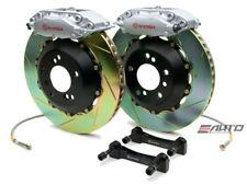 Brembo Rear GT BBK Brake 4pot Caliper Silver 345x28 Slot Disc LS430 01-06 UCF30