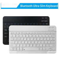 7/10'' Slim Wireless bluetooth Keyboard For iPad Android Phone Tablet PC Laptop