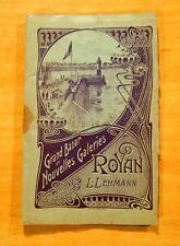 Victorian Views Folder ROYAN France Grand Bazar Nouvelles Galeries L.Lehmann