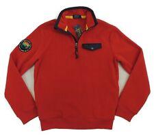 $148 Polo Ralph Lauren 1/4 Zip Sportsmen Respect Wildlife Fleece Sweatshirt S