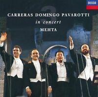 Carreras  Domingo  Pavarotti: The Three Tenors in Concert: Mehta [Audio CD]