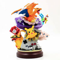 Pokemon Pikachu Charizard Mew Figure Pocket Monster Collectible Model Toy