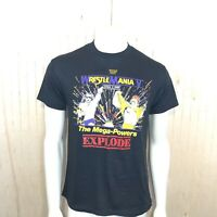 WWF WrestleMania V Men Large Mega-Powers Explode Hogan Macho Man 1989 Trump