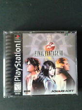 PLAYSTATION PS1 FINAL FANTASY 8 US Black Label 4 CD- NEUF/Scellé-NEW/SEALED