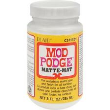 Plaid Mod Podge 236ml Matte Finish Sealer Glue Decoupage GEL
